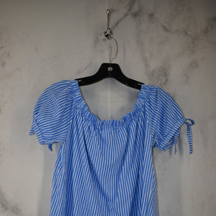 Primary Photo - BRAND: H&M STYLE: TOP SHORT SLEEVE COLOR: BLUE SIZE: S SKU: 186-186167-30087
