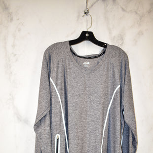 Primary Photo - BRAND: AVIA STYLE: ATHLETIC TOP COLOR: GREY SIZE: 2X SKU: 186-186217-3392