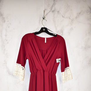 Primary Photo - BRAND: SAGE STYLE: DRESS SHORT LONG SLEEVE COLOR: MAROON SIZE: M SKU: 186-186221-701