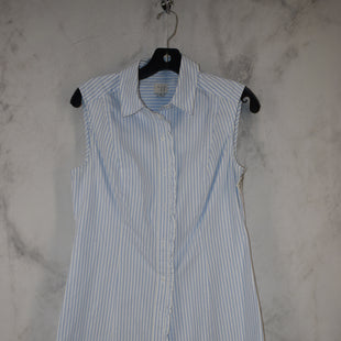 Primary Photo - BRAND: A NEW DAY STYLE: DRESS SHORT SLEEVELESS COLOR: BLUE WHITE SIZE: S SKU: 186-186167-30166