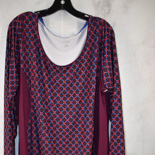 Primary Photo - BRAND: LANDS END STYLE: ATHLETIC TOP COLOR: PLUM SIZE: 1X SKU: 186-186217-6889