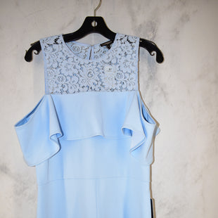 Primary Photo - BRAND: EXPRESS STYLE: DRESS SHORT SHORT SLEEVE COLOR: LIGHT BLUE SIZE: 14 OTHER INFO: ROMPER NWT SKU: 186-186167-27018
