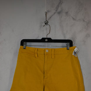 Primary Photo - BRAND: MADEWELL STYLE: SHORTS COLOR: YELLOW SIZE: 28 SKU: 186-186167-30741