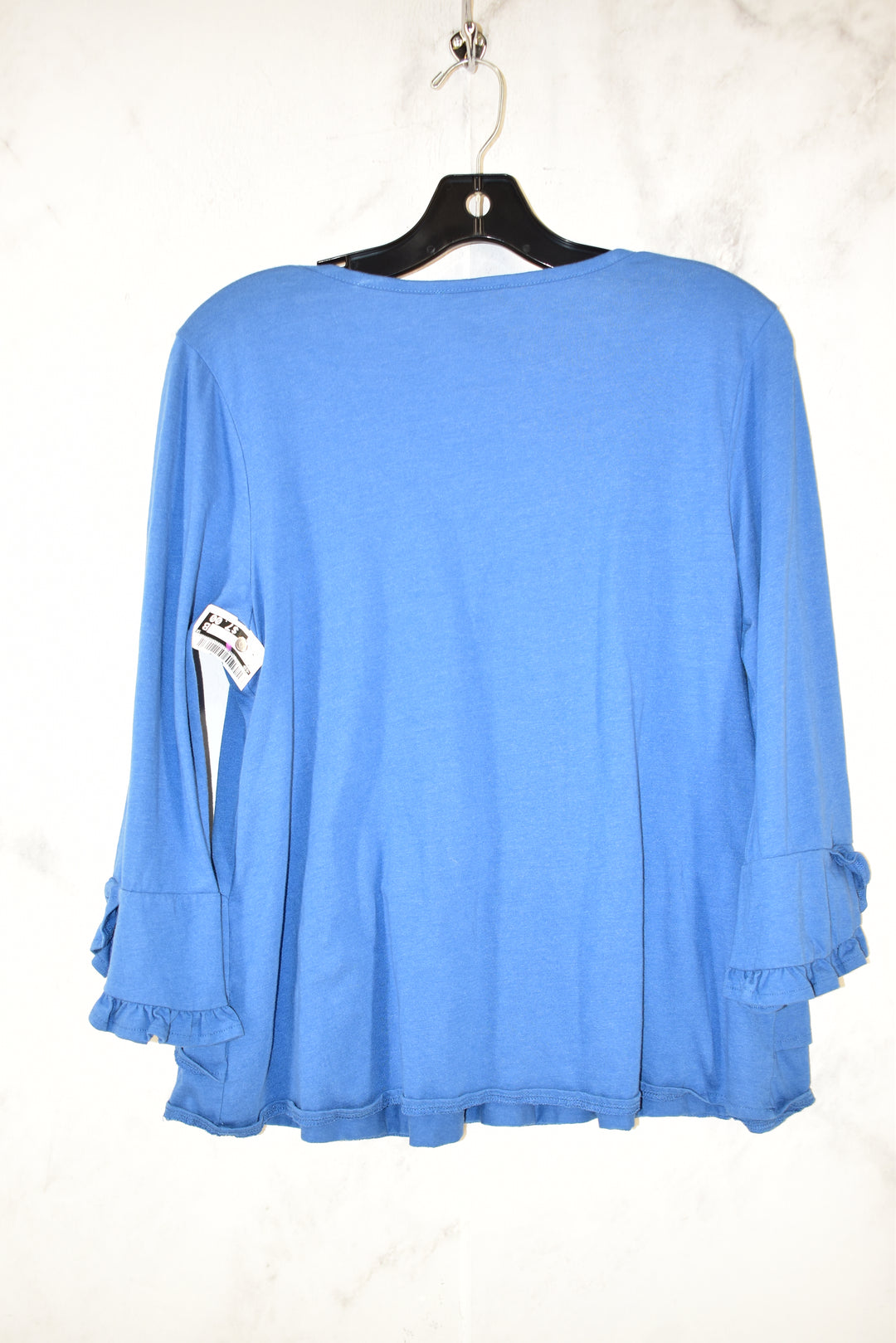 Photo #1 - BRAND: DIP <BR>STYLE: TOP LONG SLEEVE <BR>COLOR: BLUE <BR>SIZE: M <BR>SKU: 186-186200-769
