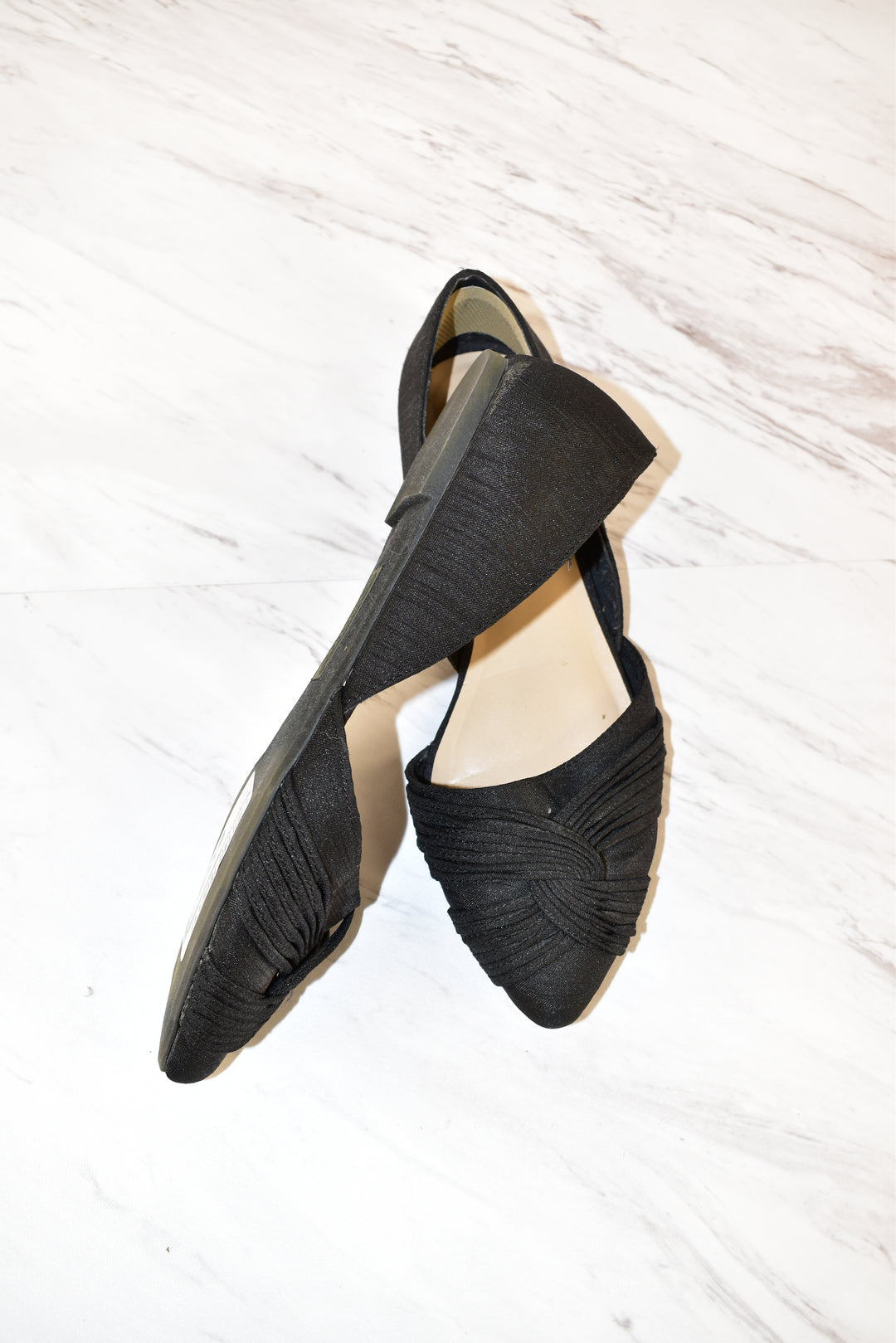 Photo #1 - BRAND: SEYCHELLES<BR>STYLE: SHOES FLATS<BR>COLOR: BLACK<BR>SIZE: 7<BR>SKU: 186-186213-2445