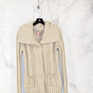 Primary Photo - BRAND: BKE STYLE: SWEATER CARDIGAN HEAVYWEIGHT COLOR: CREAM SIZE: L SKU: 186-186179-11976