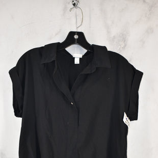 Primary Photo - BRAND: A NEW DAY STYLE: TOP SHORT SLEEVE COLOR: BLACK SIZE: S SKU: 186-186106-12148