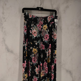 Primary Photo - BRAND: PINK ROSE STYLE: PANTS COLOR: FLORAL SIZE: L SKU: 186-186217-7859