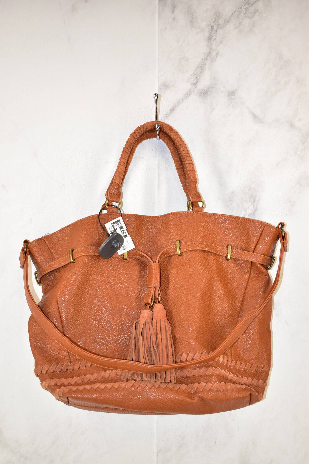 Primary Photo - BRAND: STEVE MADDEN <BR>STYLE: HANDBAG <BR>COLOR: BROWN <BR>SIZE: LARGE <BR>SKU: 186-186167-25399
