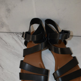 Primary Photo - BRAND: FRANCO SARTO STYLE: SANDALS FLAT COLOR: BLACK SIZE: 7.5 SKU: 186-186106-11779