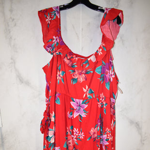 Primary Photo - BRAND: OLD NAVY STYLE: DRESS LONG SLEEVELESS COLOR: FLORAL SIZE: 2X SKU: 186-186167-23754