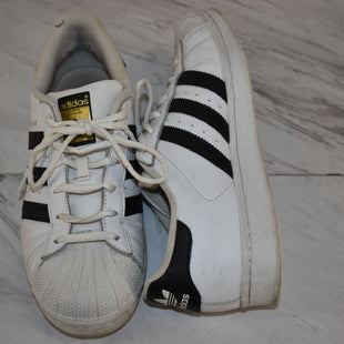 Primary Photo - BRAND: ADIDAS STYLE: SHOES ATHLETIC COLOR: WHITE SIZE: 7.5 SKU: 186-186217-7181