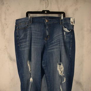 Primary Photo - BRAND: LANE BRYANT STYLE: JEANS COLOR: DENIM SIZE: 22 OTHER INFO: BOYFRIEND SKU: 186-186167-30689