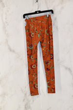 Photo #1 - BRAND: LULAROE<BR>STYLE: LEGGINGS<BR>COLOR: ORANGE<BR>SKU: 186-186179-11553