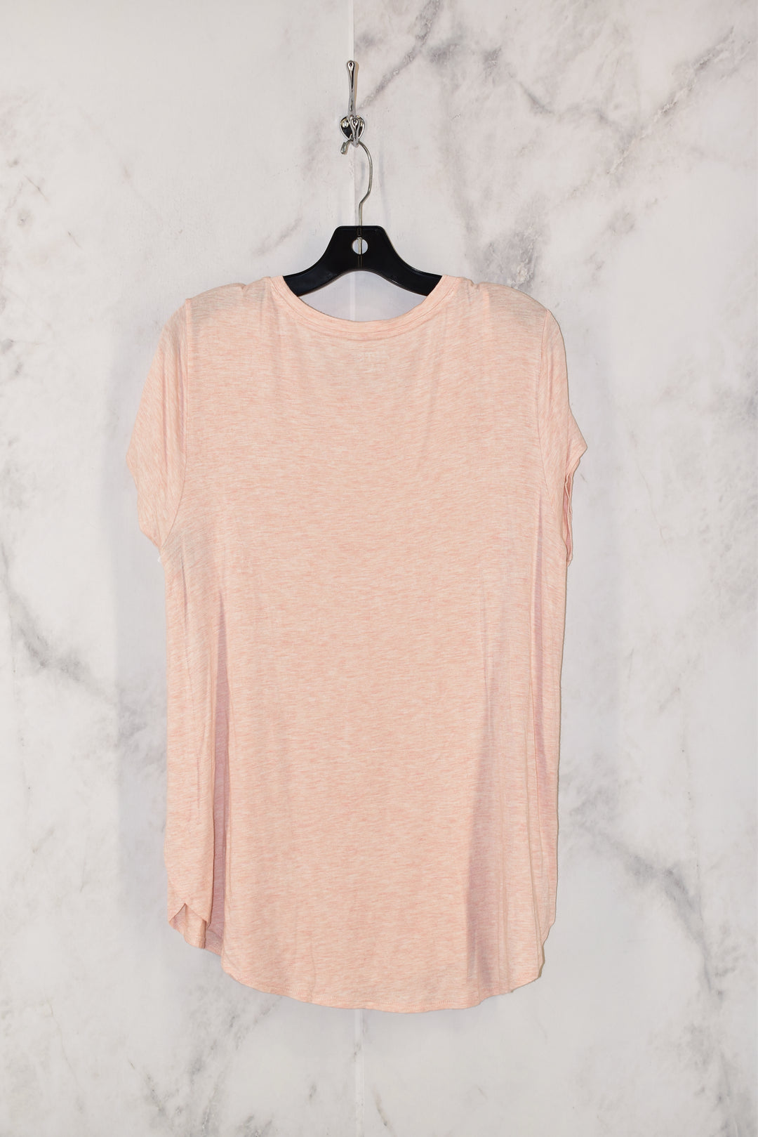 Photo #1 - BRAND: APT 9 <BR>STYLE: TOP SHORT SLEEVE BASIC <BR>COLOR: LIGHT PINK <BR>SIZE: L <BR>SKU: 186-186213-3141
