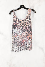 Photo #1 - BRAND:    CLOTHES MENTOR <BR>STYLE: TOP SLEEVELESS <BR>COLOR: ANIMAL PRINT <BR>SIZE: XL <BR>OTHER INFO: JULIAN + NICOLE - <BR>SKU: 186-186213-3438