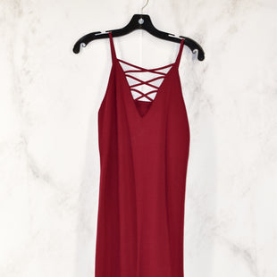 Primary Photo - BRAND:    CLOTHES MENTORSTYLE: DRESS SHORT SLEEVELESSCOLOR: MAROONSIZE: XSSKU: 186-186167-13808
