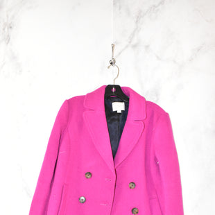 Primary Photo - BRAND: LOFT STYLE: COAT SHORT COLOR: MAGENTA SIZE: S SKU: 186-186213-5971
