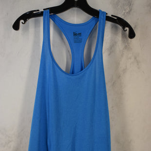 Primary Photo - BRAND: NIKE STYLE: ATHLETIC TANK TOP COLOR: BLUE SIZE: L SKU: 186-186106-12104