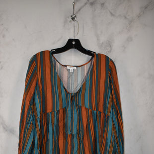 Primary Photo - BRAND: EYESHADOW STYLE: TOP LONG SLEEVE COLOR: TEAL SIZE: M SKU: 186-186217-7709