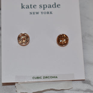 Primary Photo - BRAND: KATE SPADE STYLE: EARRINGS COLOR: GOLD SKU: 186-186199-495