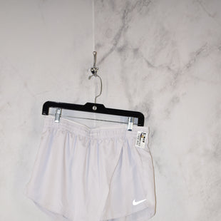 Primary Photo - BRAND: NIKE APPAREL STYLE: ATHLETIC SHORTS COLOR: WHITE SIZE: M SKU: 186-186167-27857