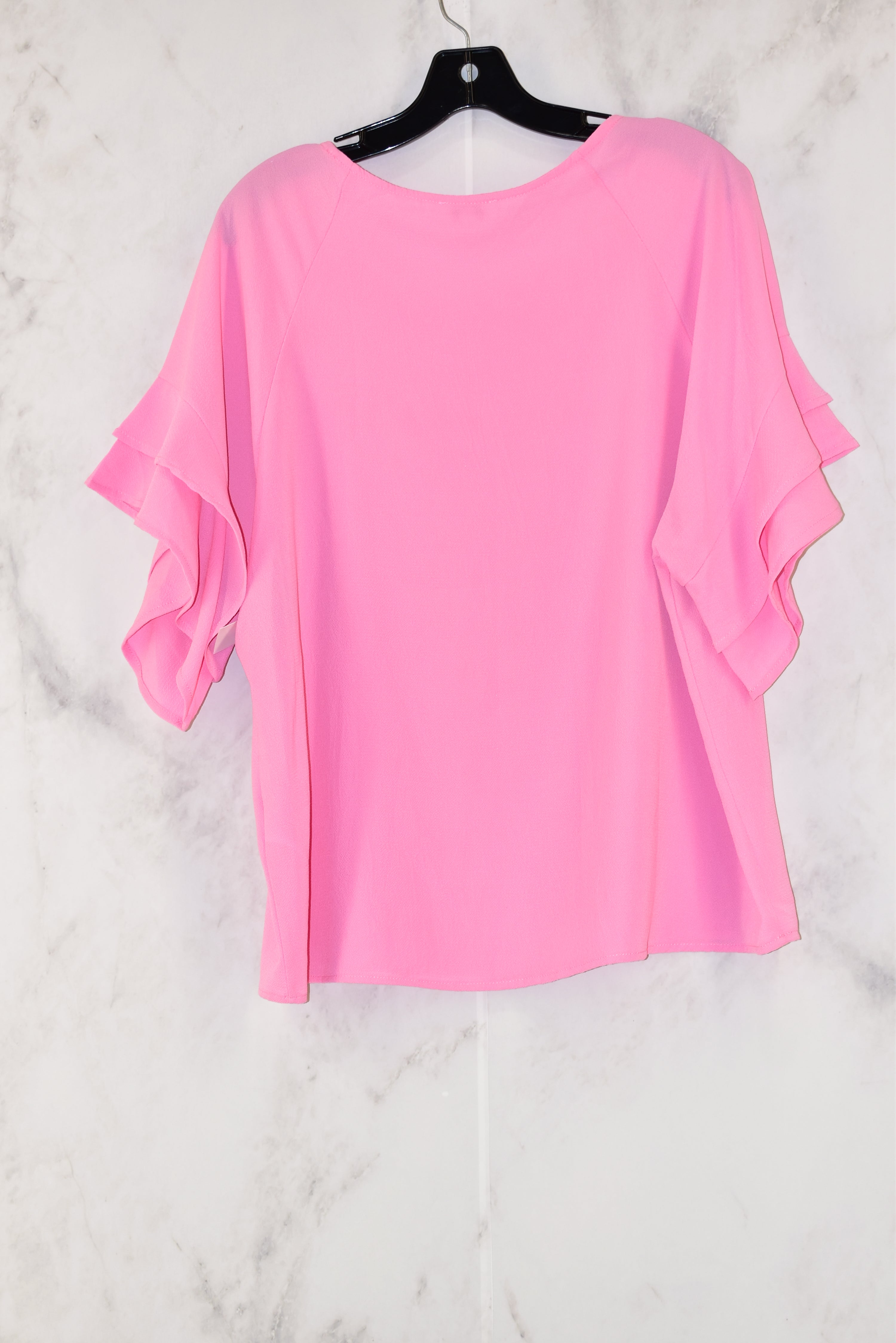 Photo #1 - BRAND: UMGEE<BR>STYLE: TOP SHORT SLEEVE<BR>COLOR: PINK<BR>SIZE: M<BR>SKU: 186-186215-653