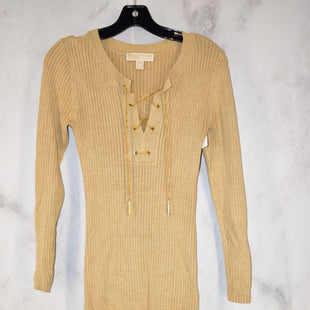 Primary Photo - BRAND: MICHAEL BY MICHAEL KORS STYLE: DRESS SHORT LONG SLEEVE COLOR: TAN SIZE: XS SKU: 186-186213-8241