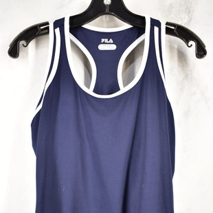Primary Photo - BRAND: FILA STYLE: ATHLETIC TANK TOP COLOR: NAVY SIZE: M SKU: 186-186167-29033