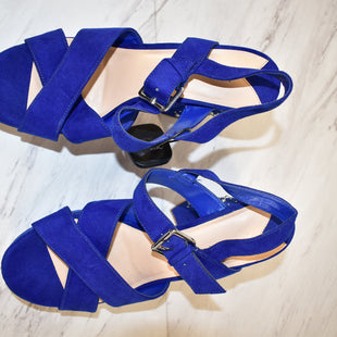 Primary Photo - BRAND: LEITH STYLE: SHOES HIGH HEEL COLOR: ROYAL BLUE SIZE: 9.5 SKU: 186-186217-4787