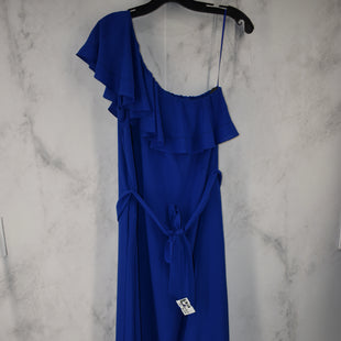 Primary Photo - BRAND: BANANA REPUBLIC STYLE: DRESS LONG SLEEVELESS COLOR: ROYAL BLUE SIZE: M SKU: 186-186106-12112