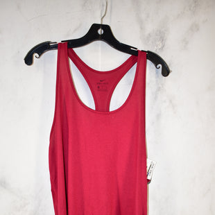 Primary Photo - BRAND: NIKE STYLE: ATHLETIC TANK TOP COLOR: MAROON SIZE: XL SKU: 186-186106-9798