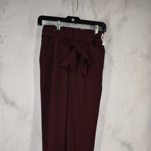 Primary Photo - BRAND: EXPRESS STYLE: PANTS COLOR: MAROON SIZE: 0 OTHER INFO: 00R ANKLE HIGH RISE SKU: 186-186106-10852
