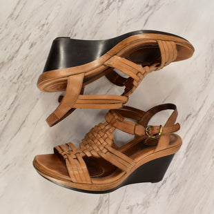 Primary Photo - BRAND: CLARKS STYLE: SANDALS LOW COLOR: TAN SIZE: 6.5 SKU: 186-186213-3374