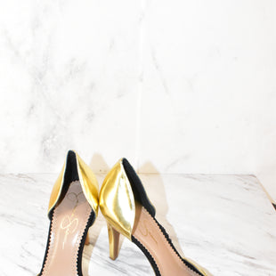 Primary Photo - BRAND: JESSICA SIMPSON STYLE: SHOES HIGH HEEL COLOR: GOLD SIZE: 10 SKU: 186-186217-5113