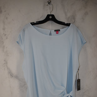 Primary Photo - BRAND: VINCE CAMUTO STYLE: TOP SHORT SLEEVE COLOR: BABY BLUE SIZE: XL SKU: 186-186217-7139