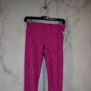 Primary Photo - BRAND: 90 DEGREES BY REFLEX STYLE: ATHLETIC PANTS COLOR: PINK SIZE: S SKU: 186-186217-6766