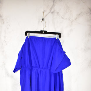 Primary Photo - BRAND: SHEIN STYLE: DRESS SHORT LONG SLEEVE COLOR: ROYAL BLUE SIZE: 4X SKU: 186-186217-3588