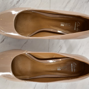 Primary Photo - BRAND: CLARKS STYLE: SHOES HIGH HEEL COLOR: NUDE SIZE: 10 SKU: 186-186167-24452