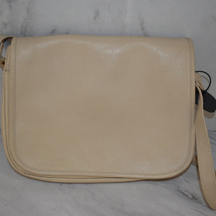 Primary Photo - BRAND:   CMC STYLE: HANDBAG LEATHER COLOR: BEIGE SIZE: MEDIUM OTHER INFO: GANSON - SKU: 186-186167-30072