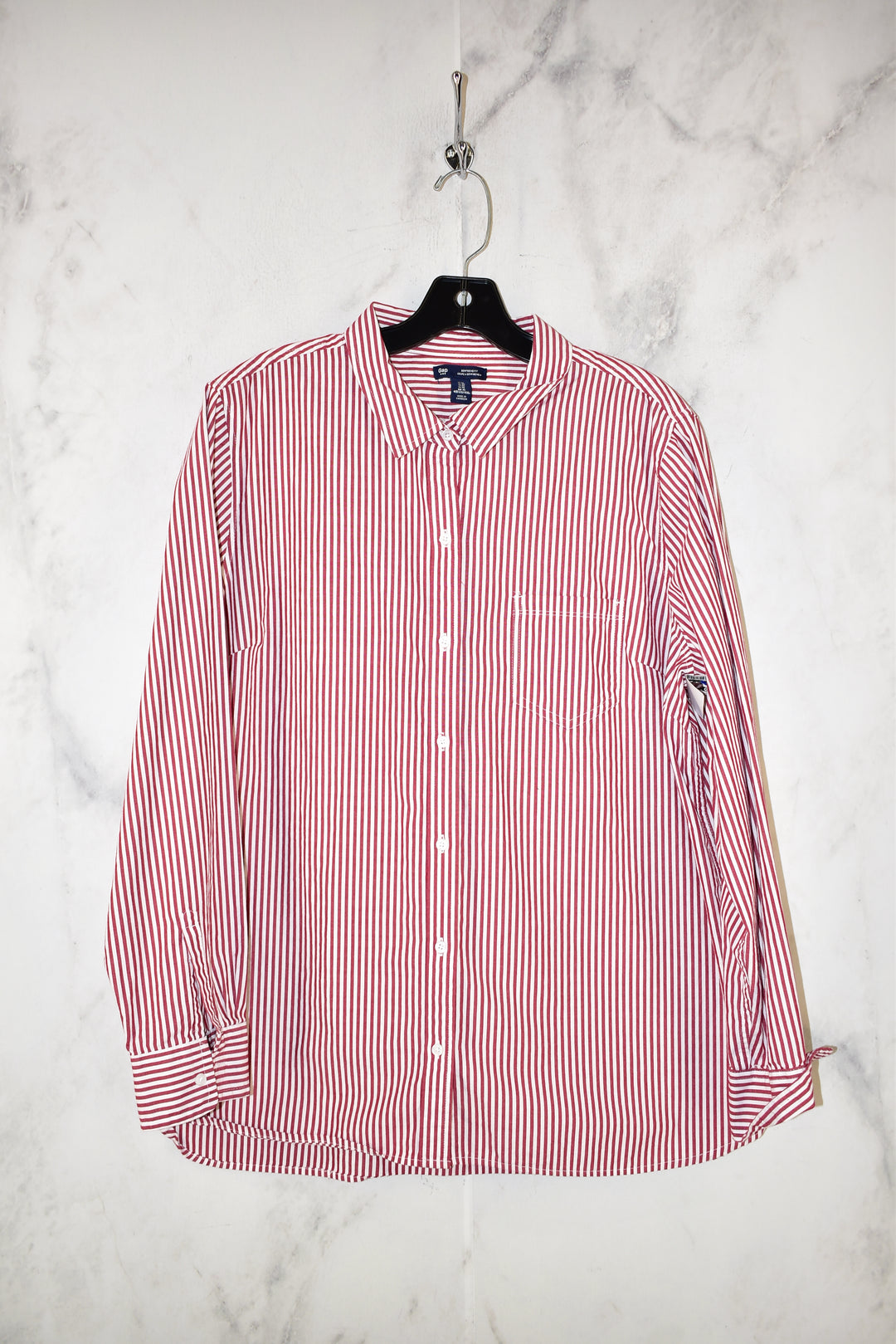 Primary Photo - BRAND: GAP <BR>STYLE: TOP LONG SLEEVE <BR>COLOR: STRIPED <BR>SIZE: XL <BR>SKU: 186-186205-550