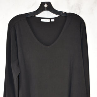 Primary Photo - BRAND: SUSAN GRAVER STYLE: TOP LONG SLEEVE COLOR: BLACK SIZE: 1X SKU: 186-186230-114
