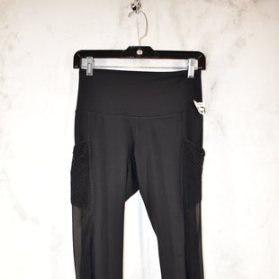 Primary Photo - BRAND: 90 DEGREES BY REFLEX STYLE: ATHLETIC CAPRIS COLOR: BLACK SIZE: S SKU: 186-186167-28095