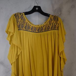Primary Photo - BRAND: KORI AMERICA STYLE: TOP SLEEVELESS COLOR: YELLOW SIZE: M SKU: 186-186106-12114