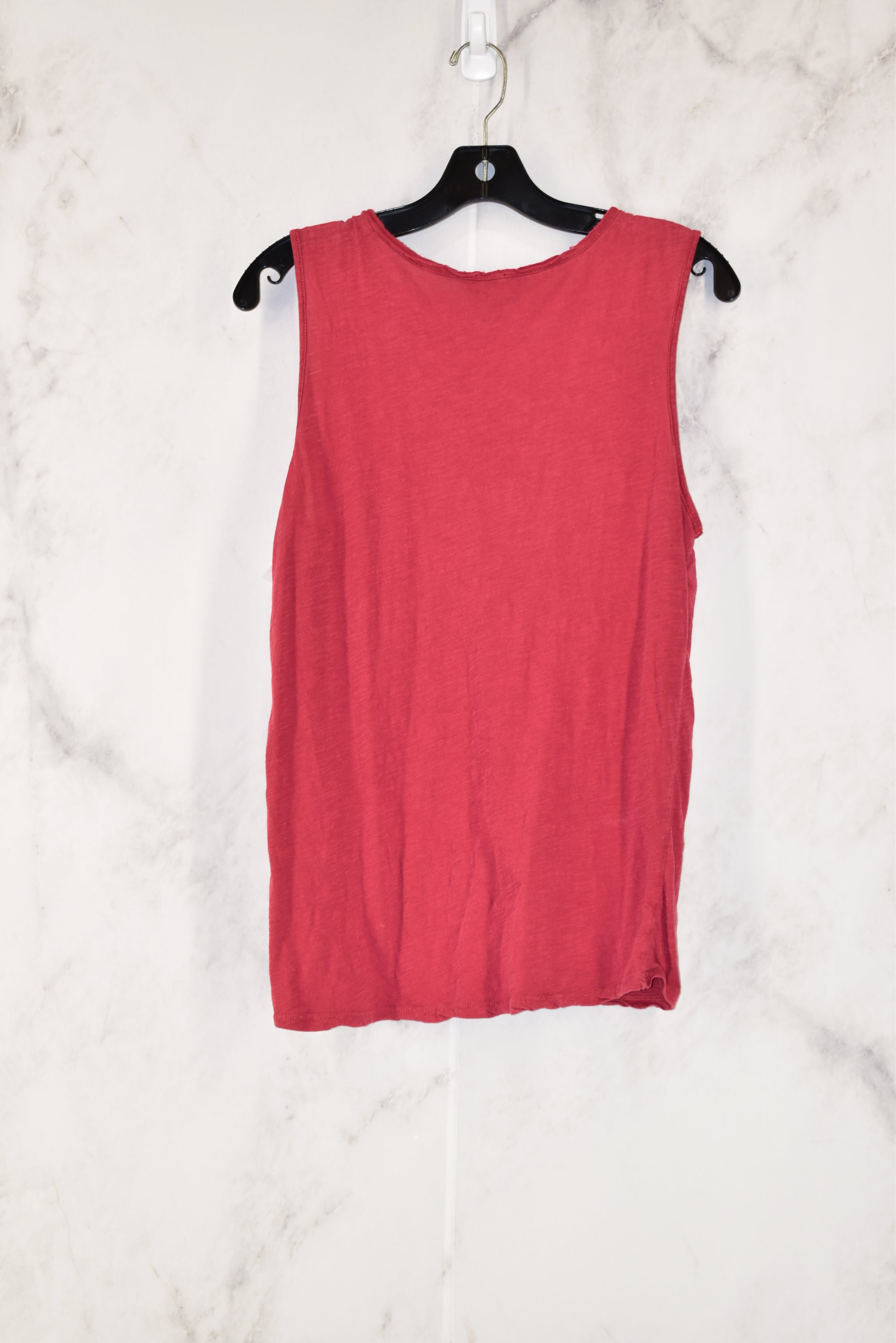 Photo #1 - BRAND: LUCKY BRAND<BR>STYLE: TOP SLEEVELESS<BR>COLOR: PINK<BR>SIZE: S<BR>SKU: 186-186179-8835