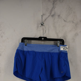 Primary Photo - BRAND: NIKE APPAREL STYLE: ATHLETIC SHORTS COLOR: BLUE SIZE: M SKU: 186-186217-7626
