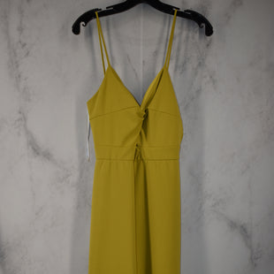 Primary Photo - BRAND: KARLIE STYLE: DRESS LONG SLEEVELESS COLOR: CHARTREUSE SIZE: M OTHER INFO: JUMPSUIT SKU: 186-186217-7716