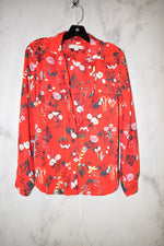 Primary Photo - BRAND: ANN TAYLOR LOFT <BR>STYLE: TOP LONG SLEEVE <BR>COLOR: RED <BR>SIZE: S <BR>SKU: 186-186167-25655