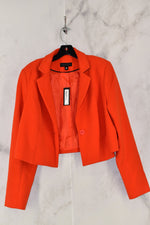 Primary Photo - BRAND: WORTHINGTON <BR>STYLE: BLAZER JACKET <BR>COLOR: ORANGE <BR>SIZE: XL <BR>SKU: 186-186106-5988