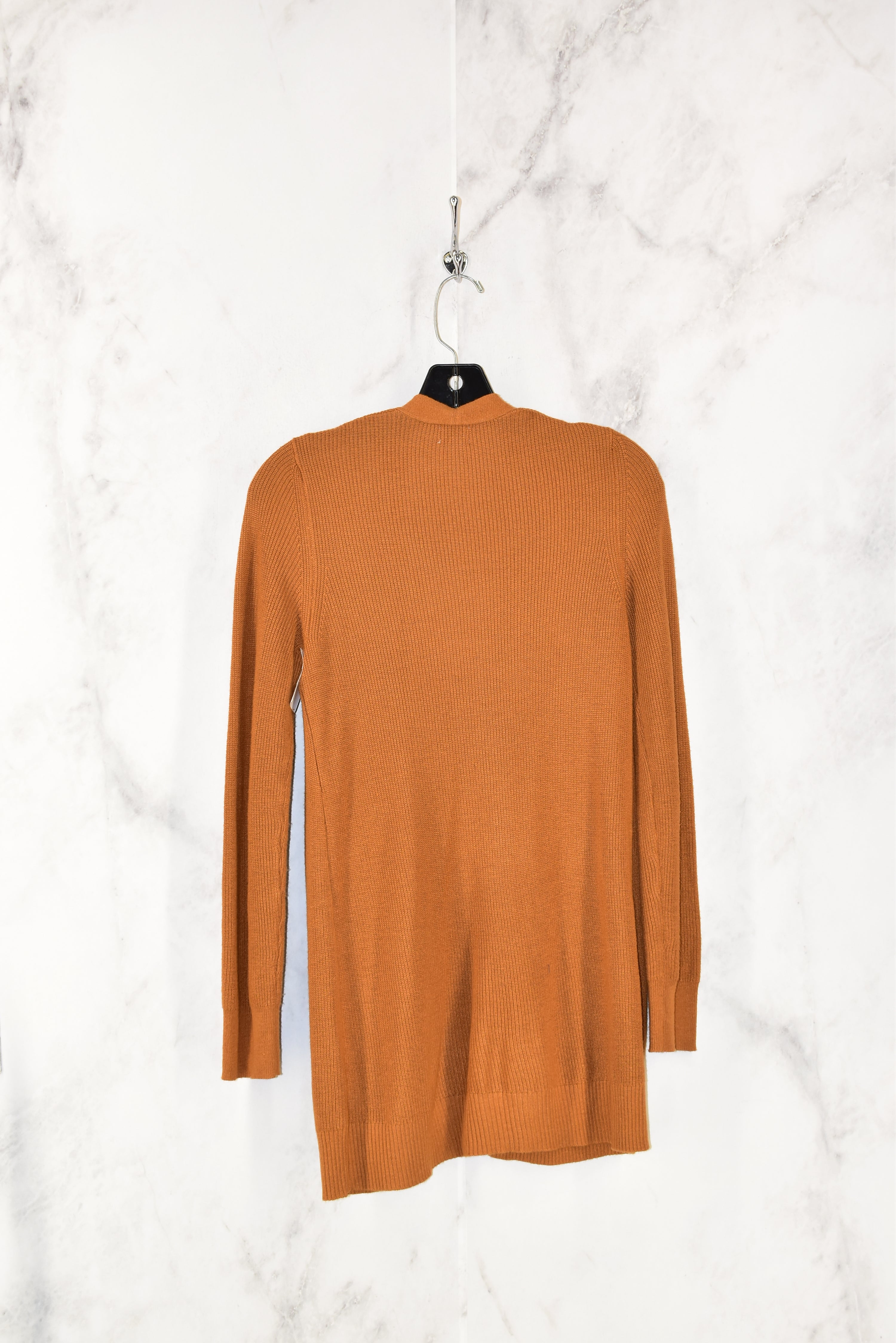 Photo #1 - BRAND: A NEW DAY <BR>STYLE: SWEATER CARDIGAN LIGHTWEIGHT <BR>COLOR: MUSTARD <BR>SIZE: XS <BR>SKU: 186-186106-7341